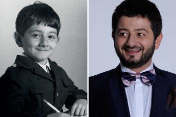 Резиденты Comedy Club в детстве и сейчас